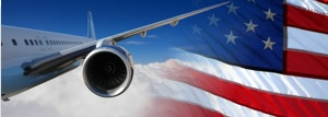 business flights to the US